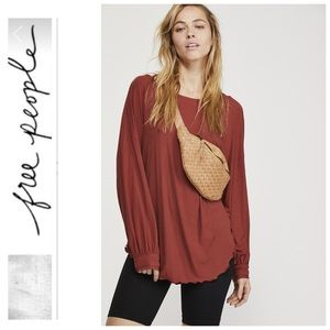 NWT Free People Womens Shimmy Shake Top